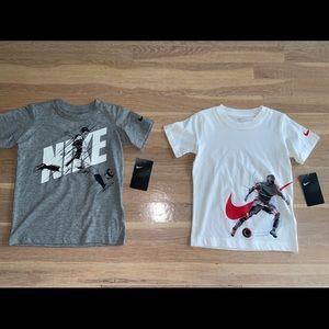 Boys Nike Soccer Tshirt Bundle Size 4T Nwt